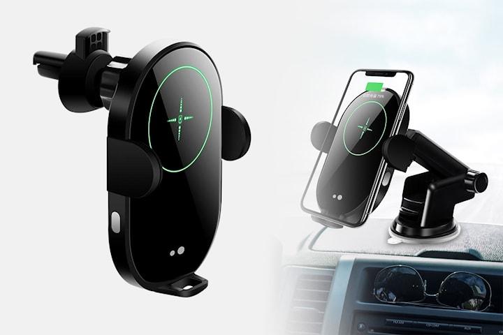 Trådlös snabbladdare till bil med IR-sensor