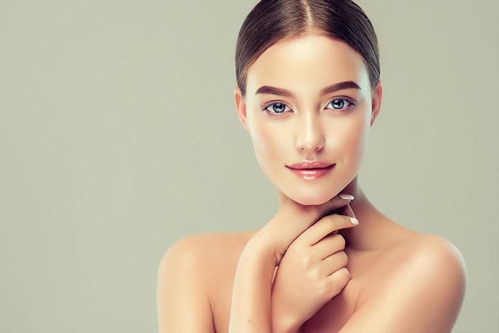 Ansiktspakke med ny strålende hud hos Natural Beauty Clinic