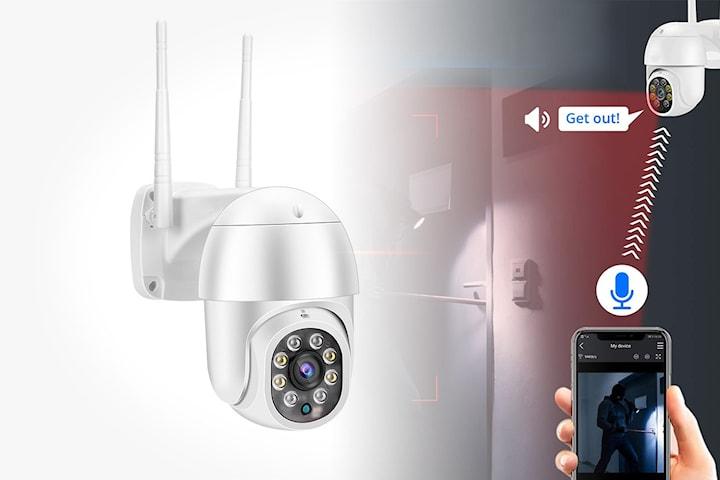 Trådløst overvåkingskamera med WiFi