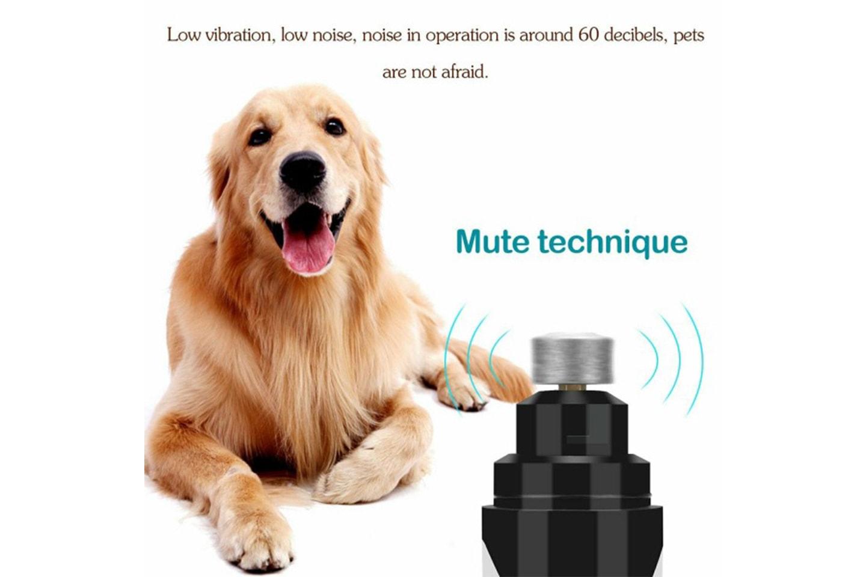 Elektrisk neglsliper for kjæledyr