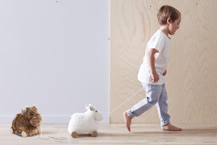 Kids Concept Bo eller Edvin dragleksak älg