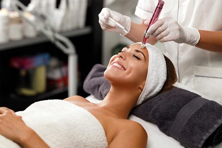 Velg microneedling 1, 2 eller 3 behandlinger hos Pure perfection for et foryngende ansikt