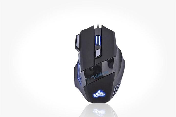 Gaming mus med LED