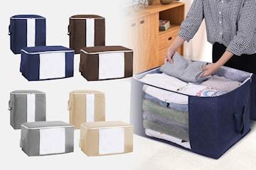 Hopvikbara förvaringsväskor 2-pack