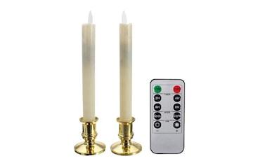 LED-stearinlys m/ fjernkontroll