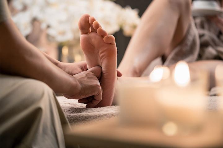 Lyxig fot- och handmassage, 50 min