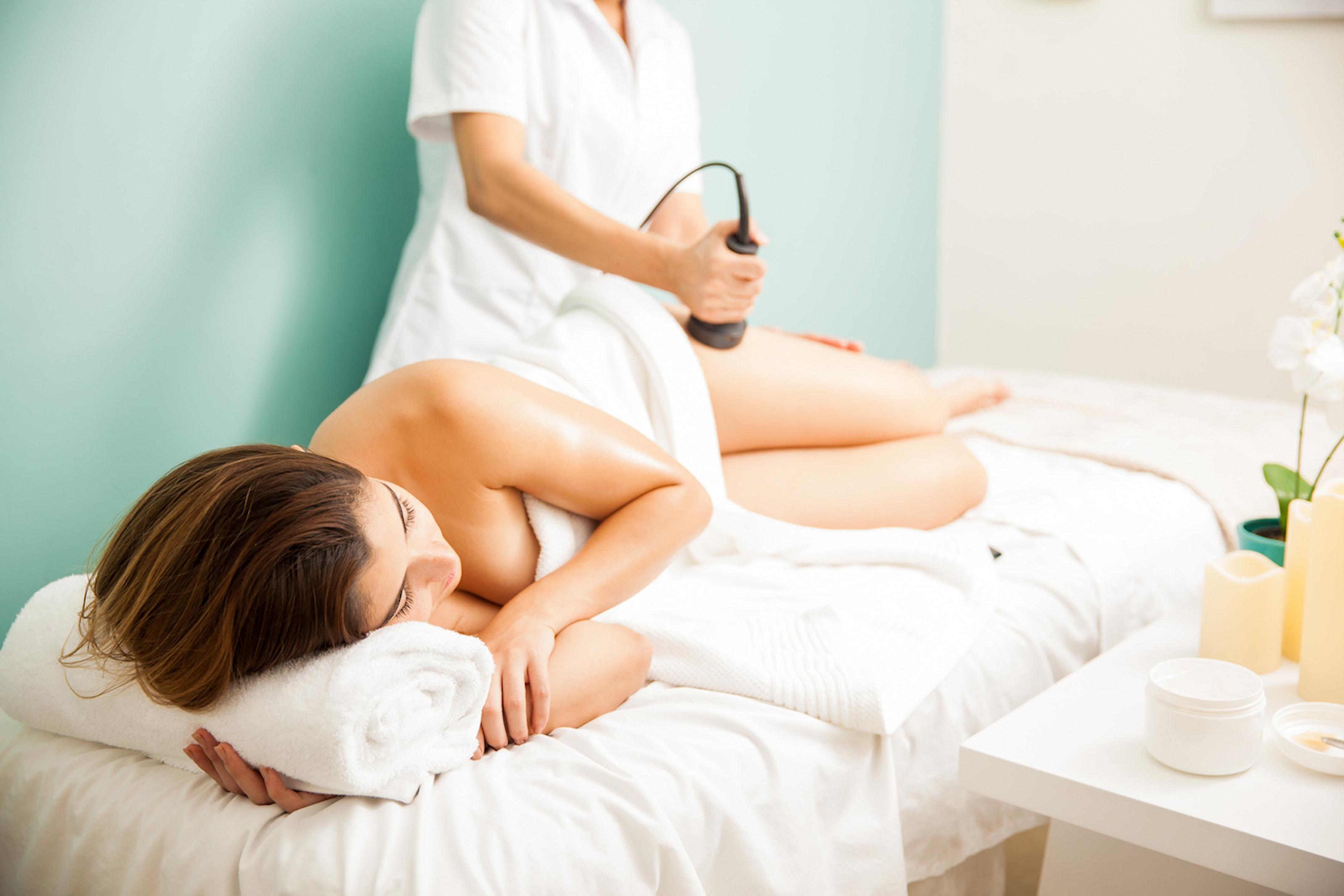 Cellulitbehandling med dermomassage