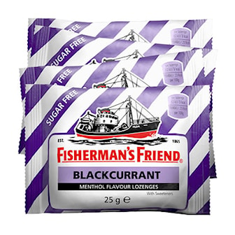 Black Currant, 24-pack Fisherman's Friend, 24-pack Fisherman's Friend, ,
