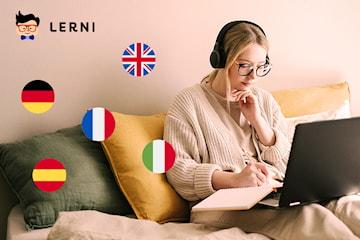 Online språkkurs: lær deg fransk, spansk, italiensk, engelsk eller tysk
