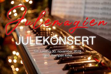 Kom i julestemning med konsert fylt med juleharmoni og julemagi i Kampen kirke