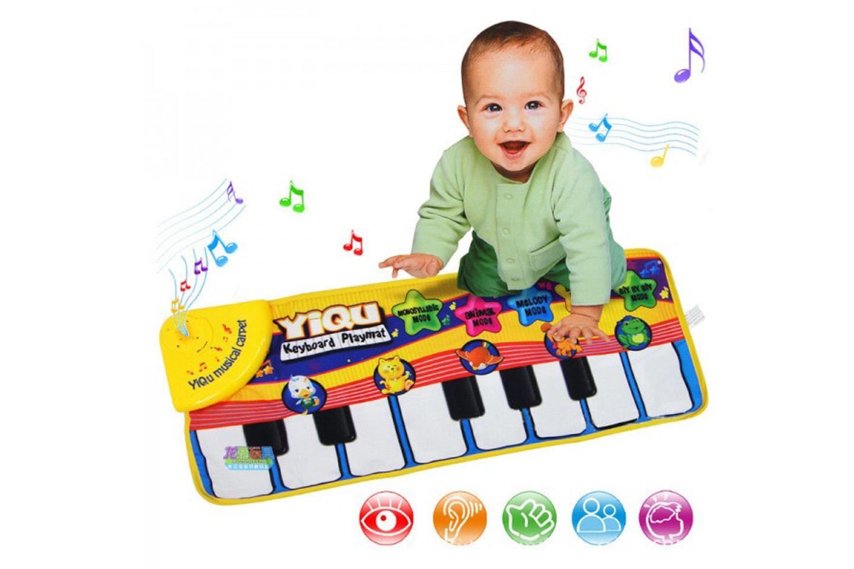 Pianomatte til baby