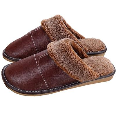 Brun, 41-42, Leather Slippers, Lädertofflor, ,  (1 av 1)