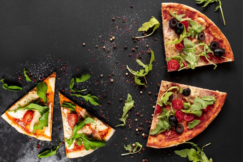Valgfri autentisk italiensk pizza med kun de beste råvarer (1 av 3)