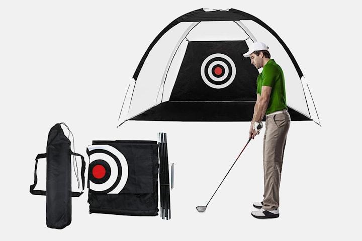 Sammenleggbart golfnett