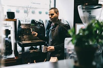 Kaffeprovning hos A43