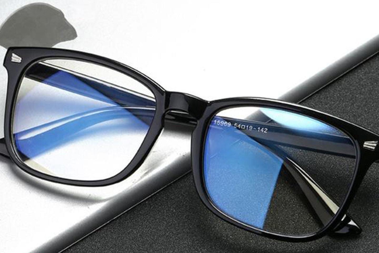 Briller med blålysfilter
