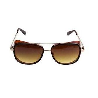 Svart/Brun, Leopard Frame, Retro Sunglasses, , ,