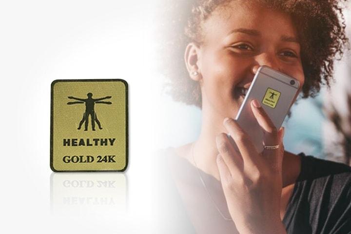 Sticker med strålskydd 3- eller 6-pack