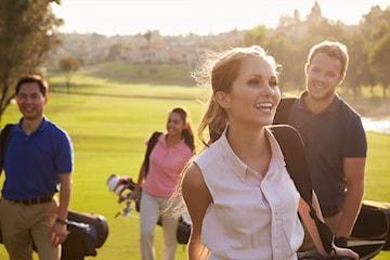 Grönt kort online med Happy Golfer