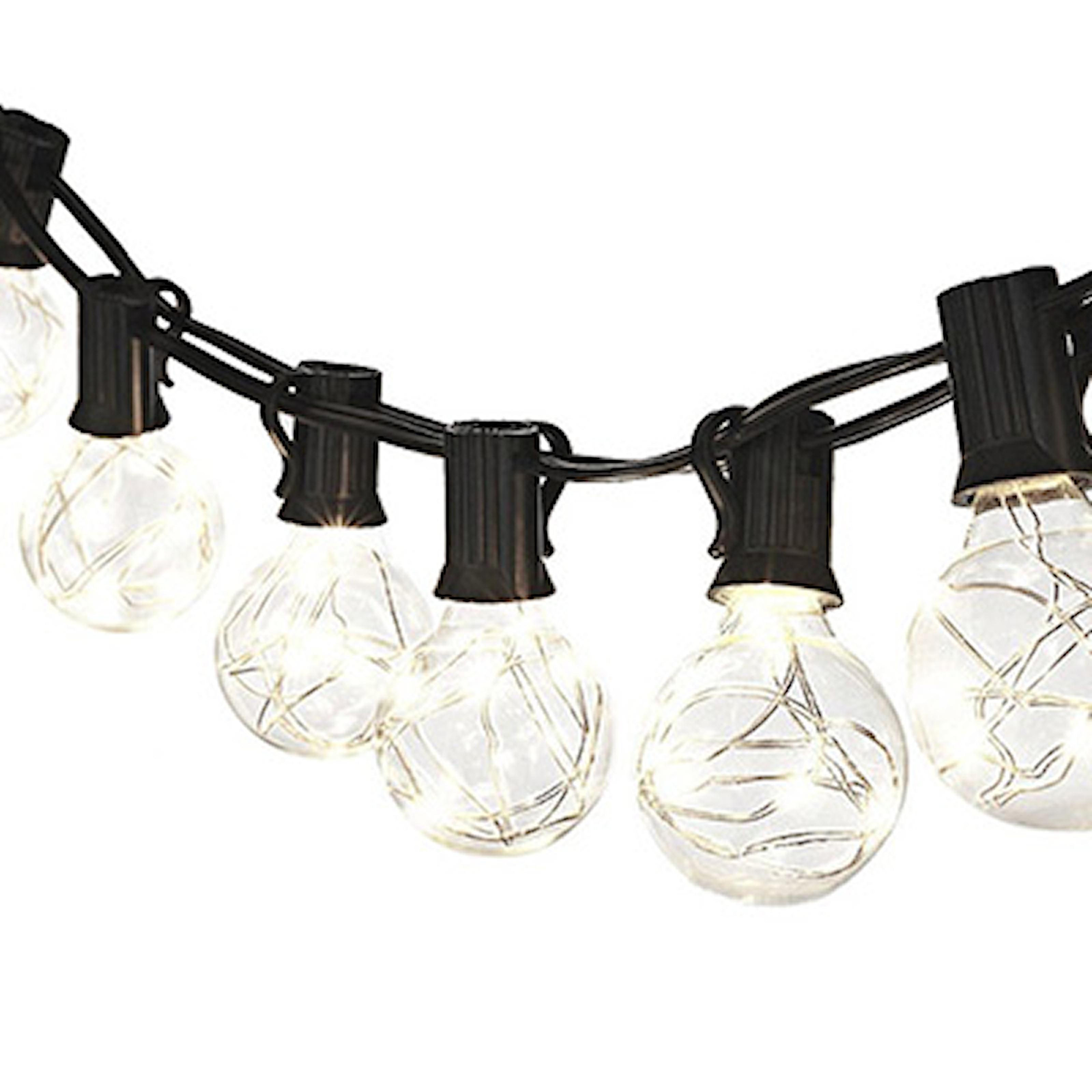 Vit, Light Balls Wire, Ljusslinga med runda klot, ,
