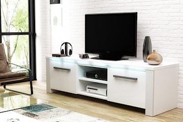 Messa TV-bänk med LED-ljus