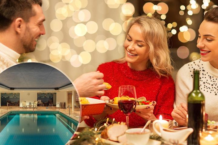 Julbord, boende, relax, och frukost för 2 på Billingehus