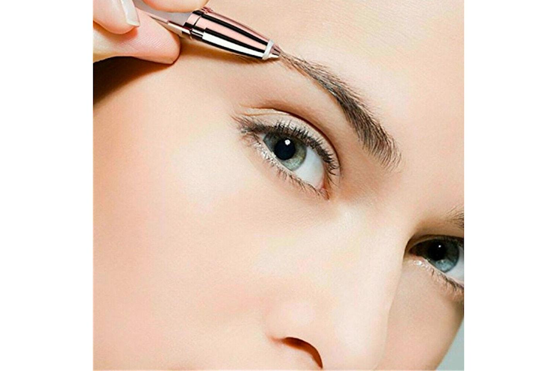 Elektrisk hårfjerner til øyenbryn