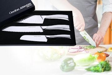 Orrefors Jernverk 3-pack knivar