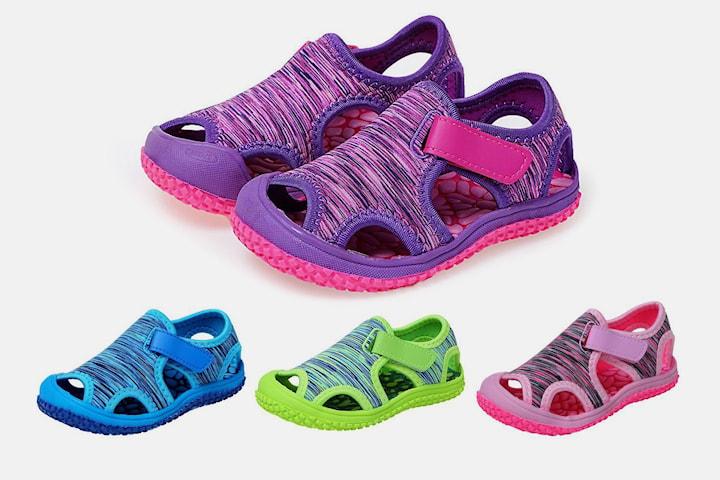 Halkfria sandaler för barn