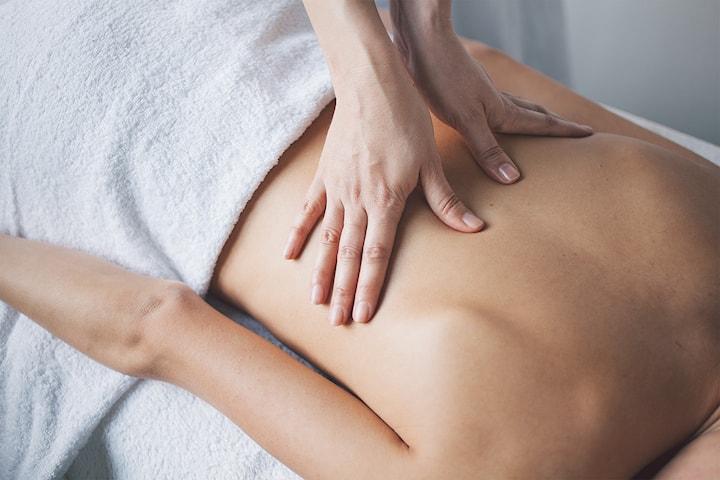 30, 60 eller 90 min terapeutisk massasje mot stiv kropp og smerter