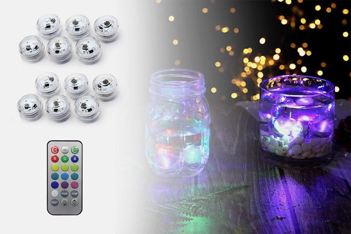 Dekorativa LED-lampor 12-pack