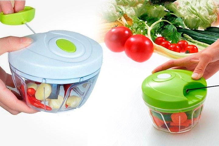 Manuell frukt- og grønnsakskutter