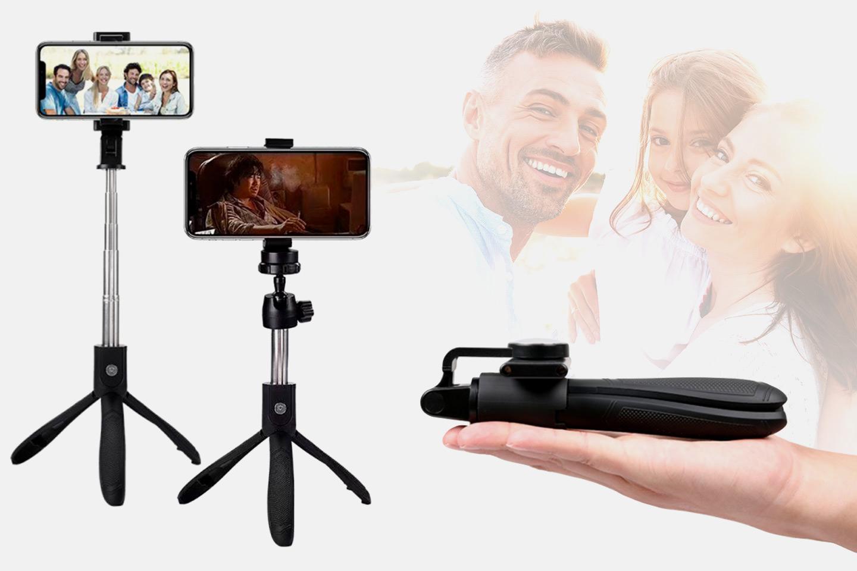 Selfiestang med tripod-stativ (1 av 11)