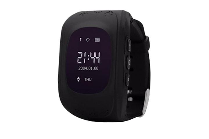 GPS Smart klokke for barn - Svart
