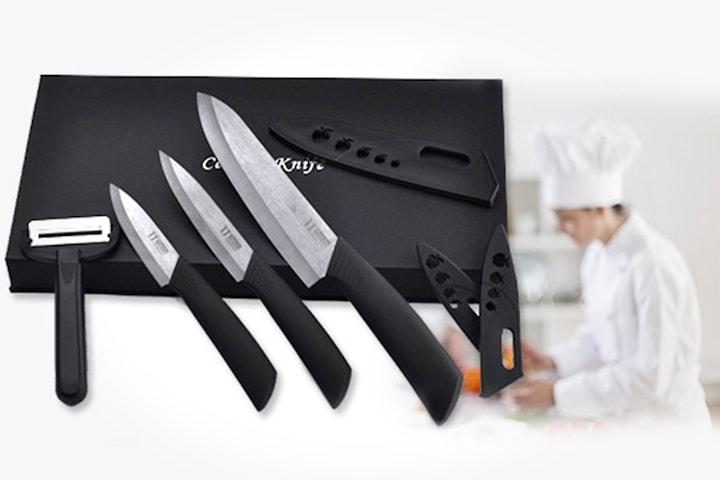 Keramisk knivsett av høy kvalitet