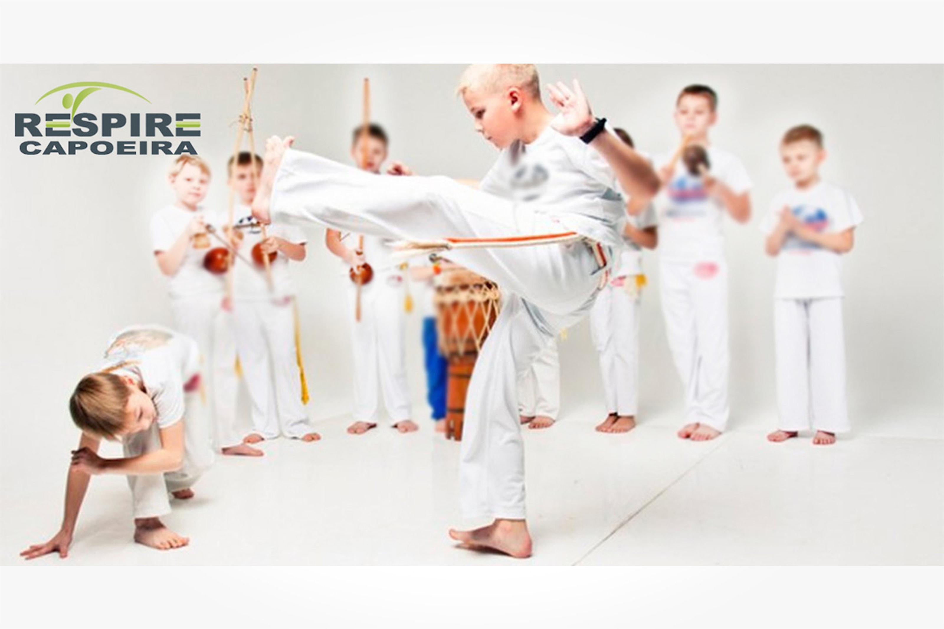 Träna capoeira