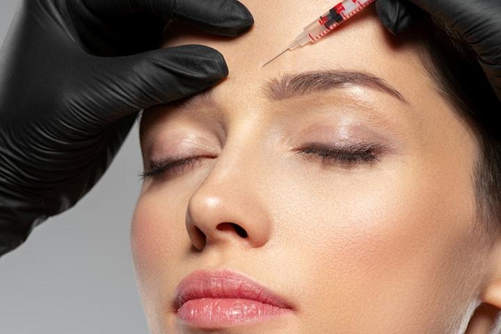 Injektionsbehandling med botulinumtoxin, av legitimerad läkare Beauty by Meline