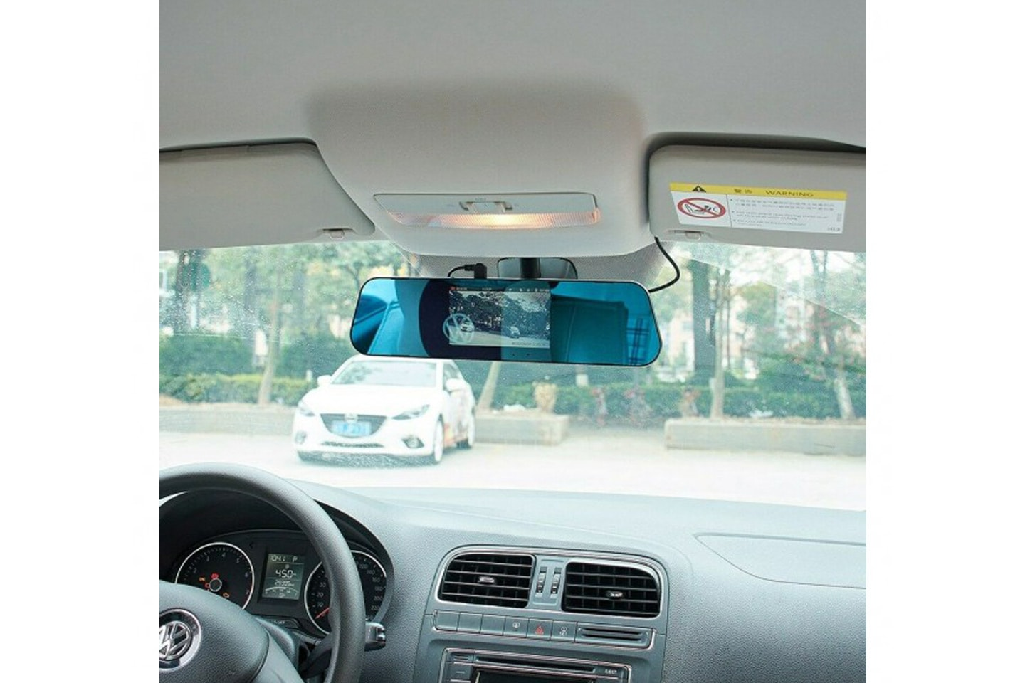 Clip-on dashcam