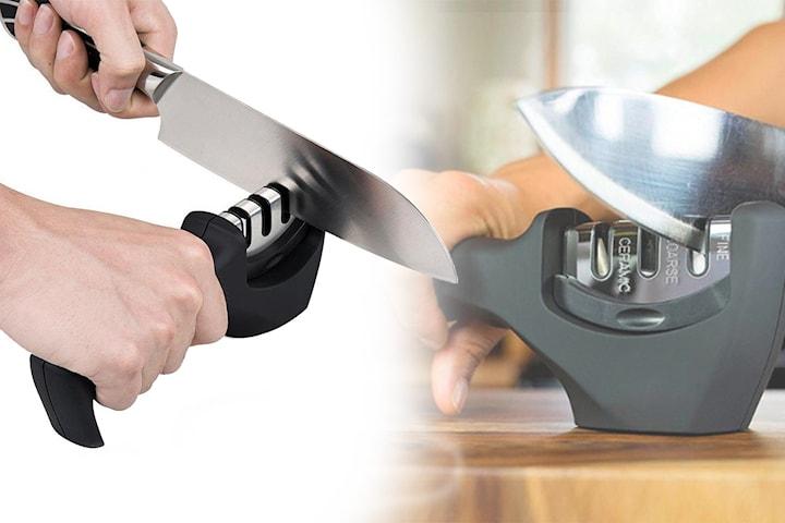 Ergonomisk knivslip