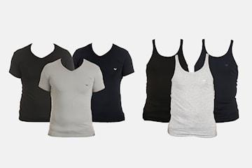 Emporio Armani t-shirt eller tank 2-pack