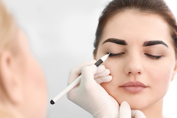 Permanent eyeliner hos PM Studio Esthetique