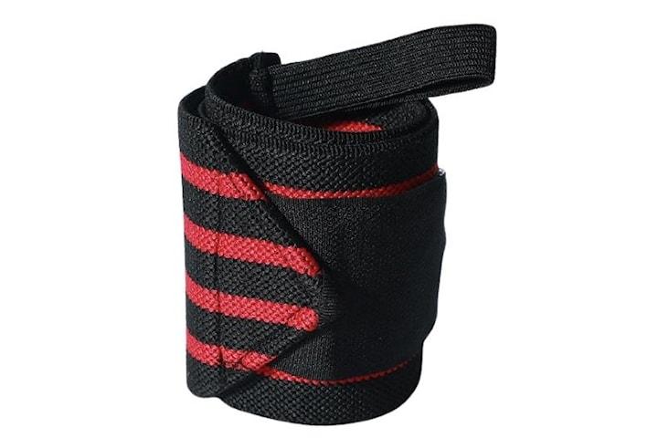 Handledsstöd/Wrist Wrap, Röd/Svart