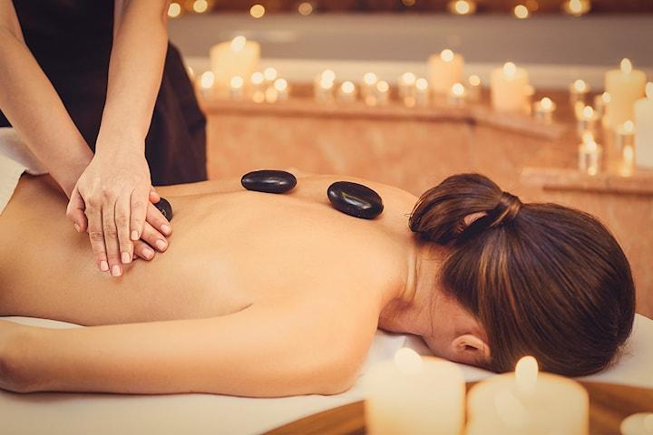 Hot stone-massage i Majorna, 45 min