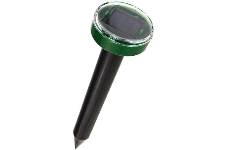 Ultraljud mullvadschockare / skadedjursskrämma med solcell