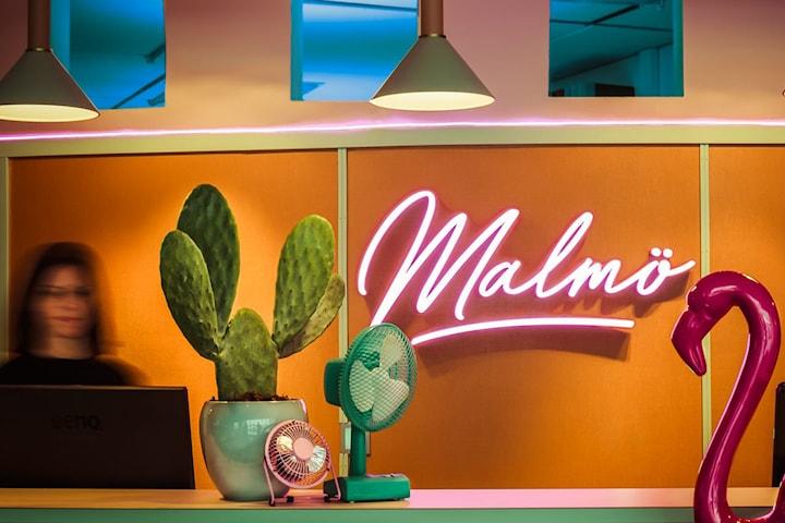 1 natt för 2 personer i Deluxerum i centrala Malmö