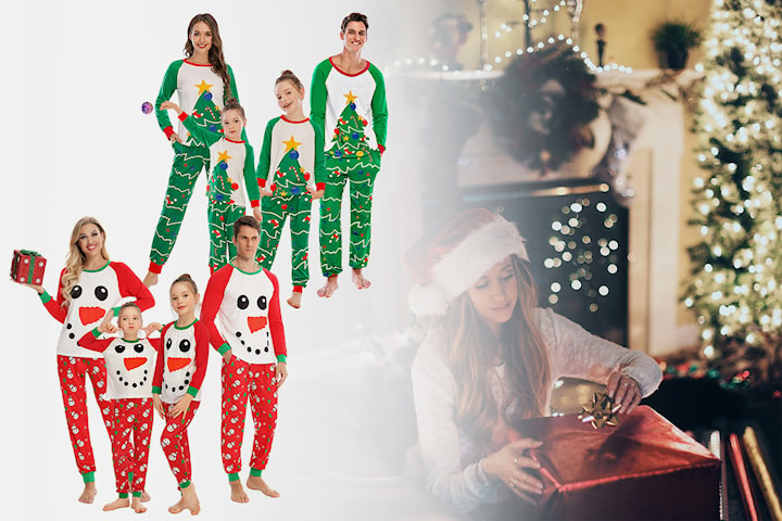 XMAS pyjamas for hele familien