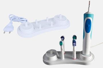 Elektrisk tannbørsteholderbase