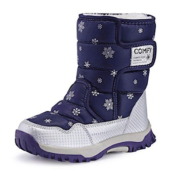 Blå, 27, Children's Snow Boots, Vintersko til barn, ,