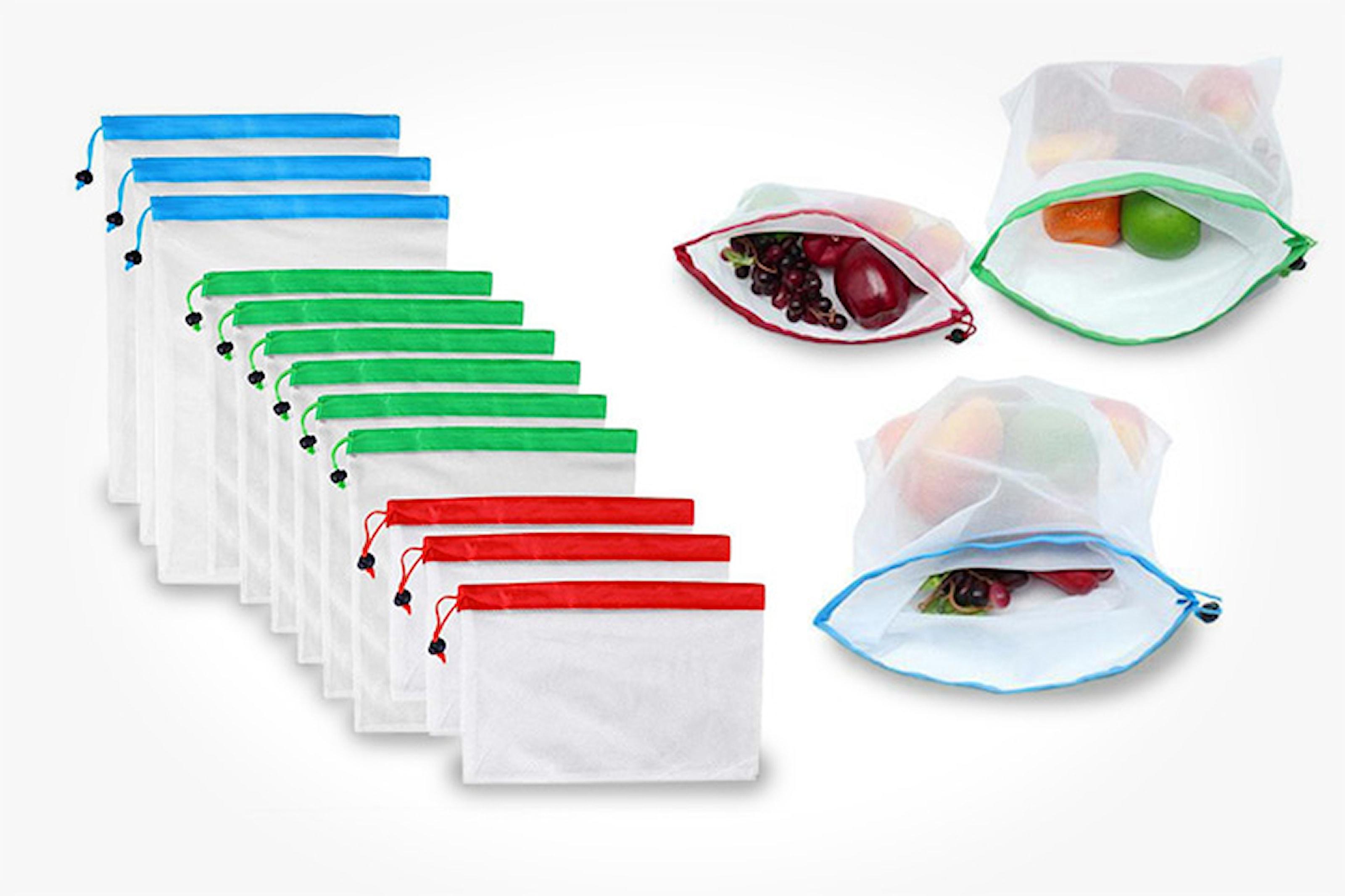 12- eller 24-pack gjenbrukbare matposer