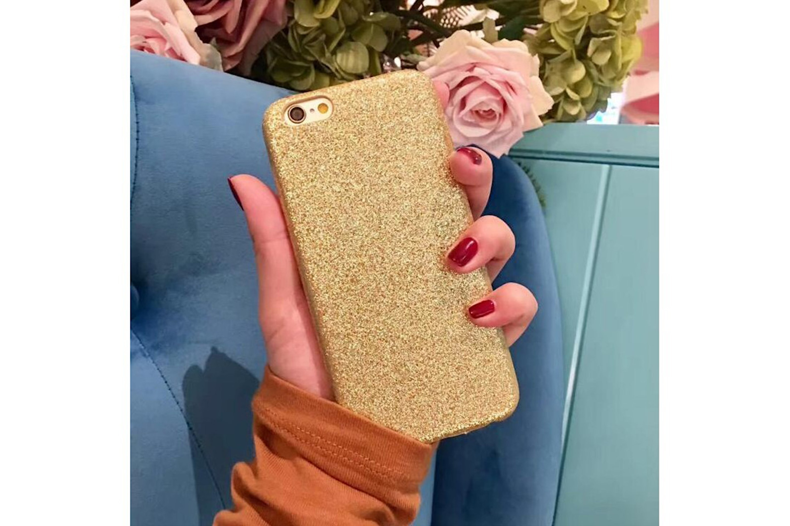 Glitterskal till mobilen